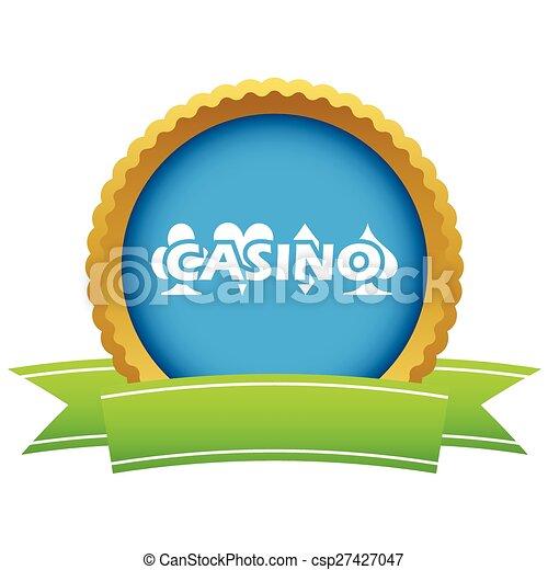 Casino icon - csp27427047