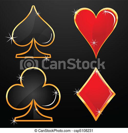 casino icons - csp5108231