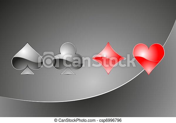 Casino illustration - csp6996796
