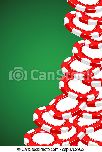 Casino illustration - csp8762962