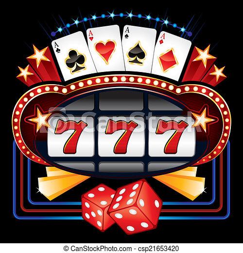 Casino machine - csp21653420