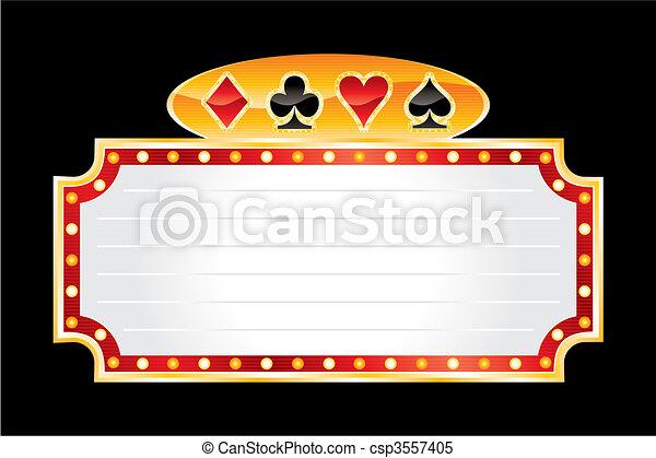 Neón casino - csp3557405