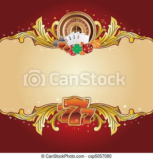 Fondo de casino - csp5057080