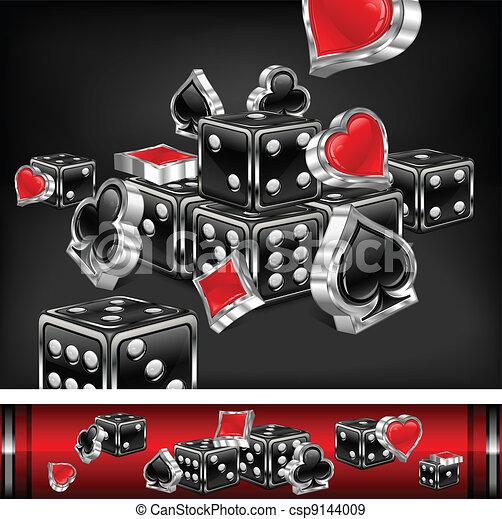 Un fondo casino - csp9144009