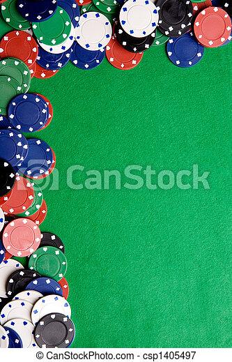 Un fondo casino - csp1405497