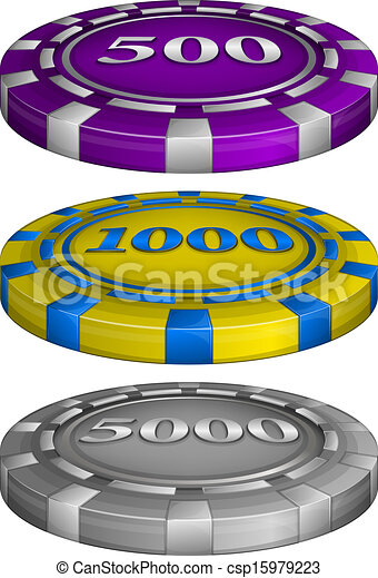 Casino poker chips with cost - csp15979223