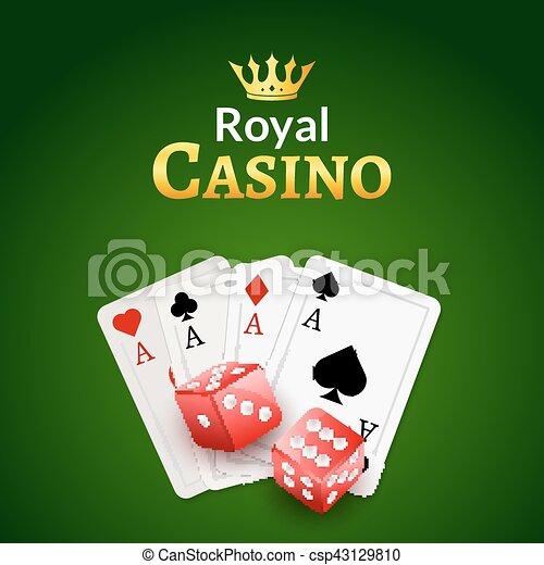Casino Cards Background