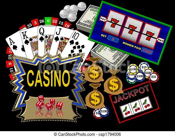 Casino symbols - csp1794006