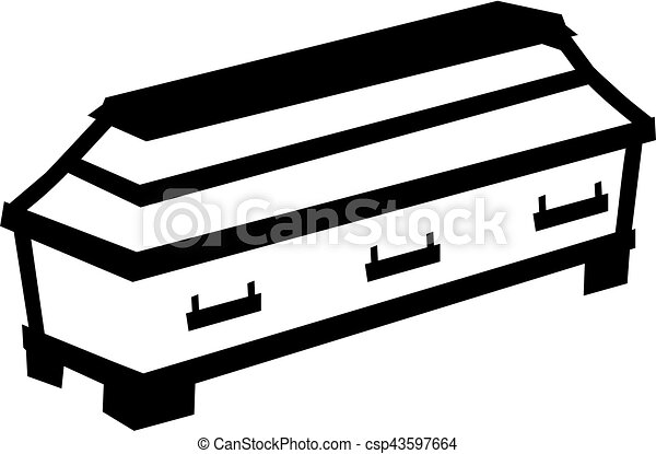 casket stock illustrations 1 406 casket clip art images and royalty rh canstockphoto com coffin clipart black and white coffin clipart minus halloween