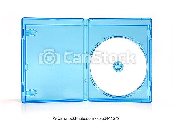 La caja de Blueray - csp8441579
