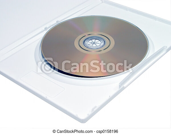 DVD en White Case - csp0158196