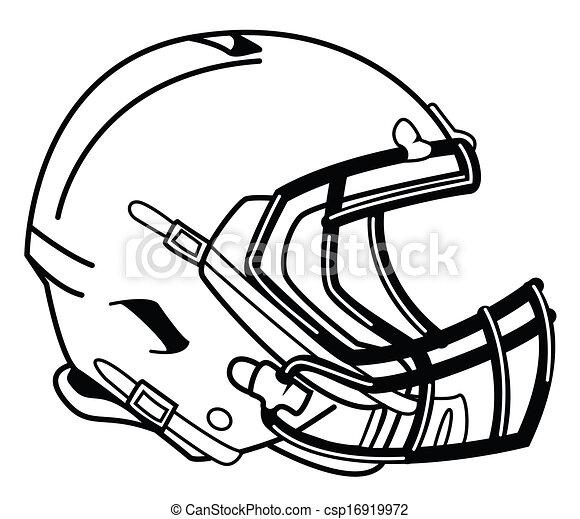 Casque football - Dessin football americain ...
