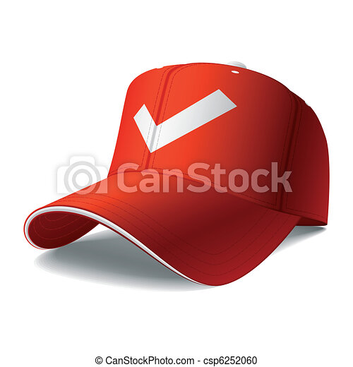 casquette, rouges - csp6252060