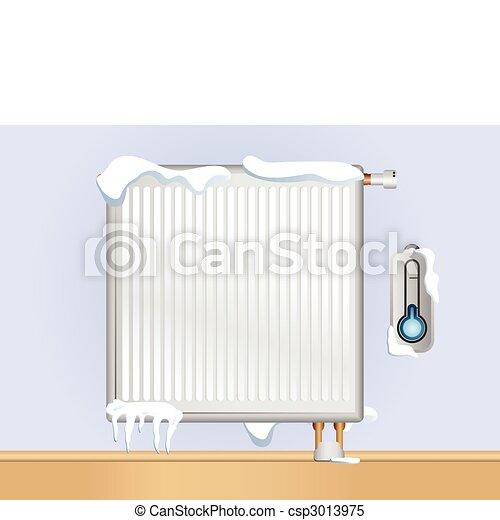 cassé, radiateur - csp3013975