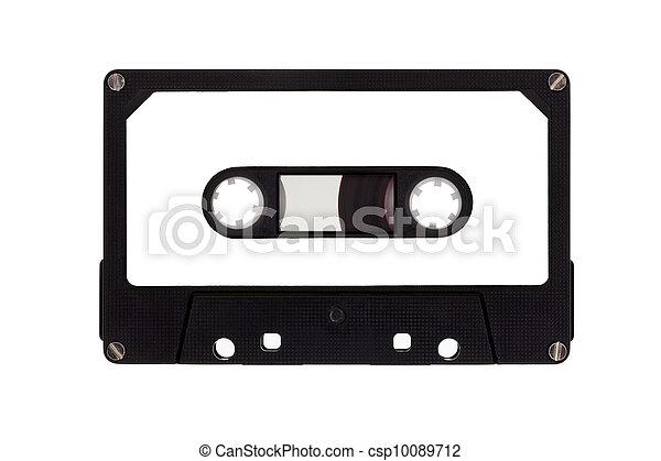 cassete, único, fita - csp10089712