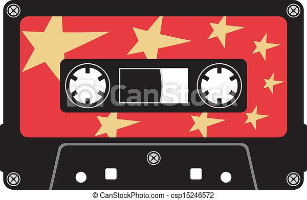 cassette, audio, cassette - csp15246572