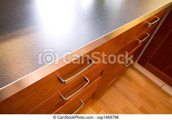 cassetto, contatore, cucina - csp1469796