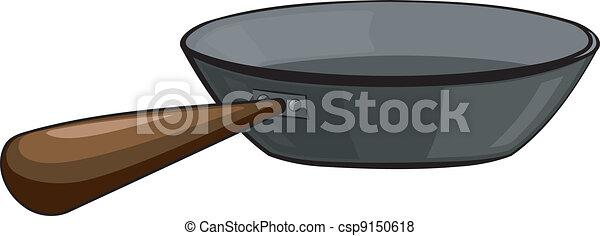 Cast-iron frying pan - csp9150618
