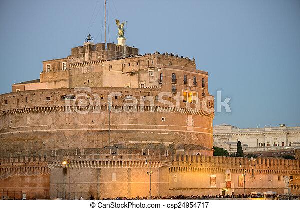 Castel Sant'angelo - csp24954717