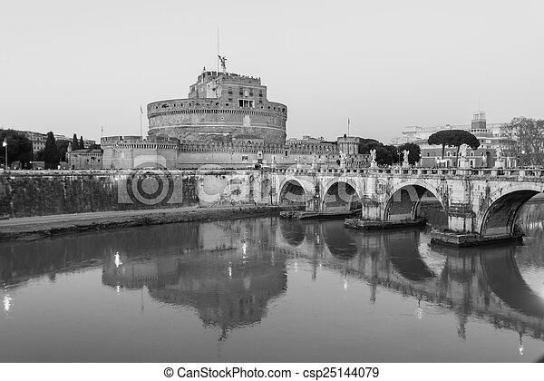 Castel Sant'angelo - csp25144079