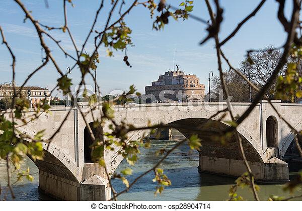 Castel Sant'Angelo - csp28904714