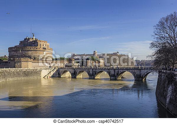 Castel Sant'Angelo - csp40742517