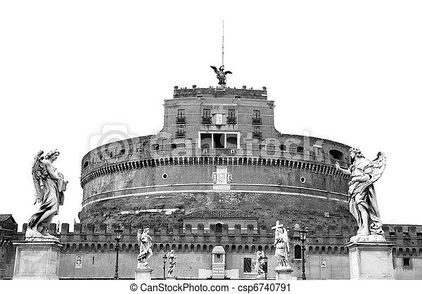 Castel Sant'Angelo - csp6740791