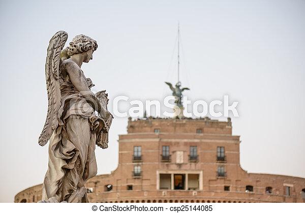 Castel Sant'angelo - csp25144085