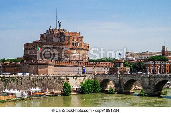 Castel Sant'Angelo - csp91891284