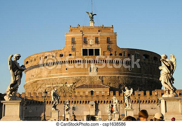 Castel Sant'Angelo - csp1638586
