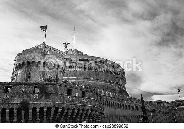 Castel Sant'Angelo - csp28899852