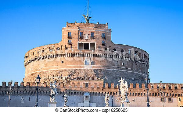 Castel Sant'Angelo - csp16258625