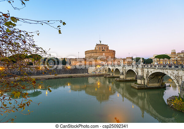 Castel Sant'angelo - csp25092341