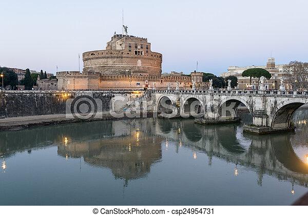 Castel Sant'angelo - csp24954731