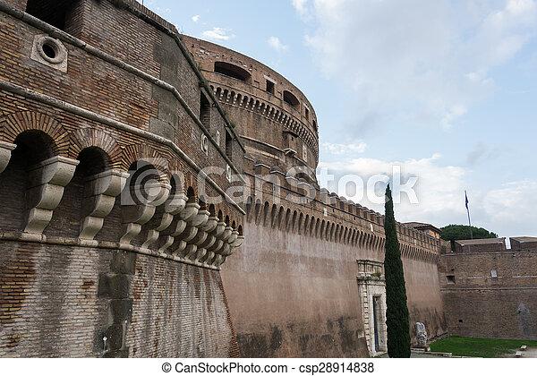 Castel Sant'Angelo - csp28914838