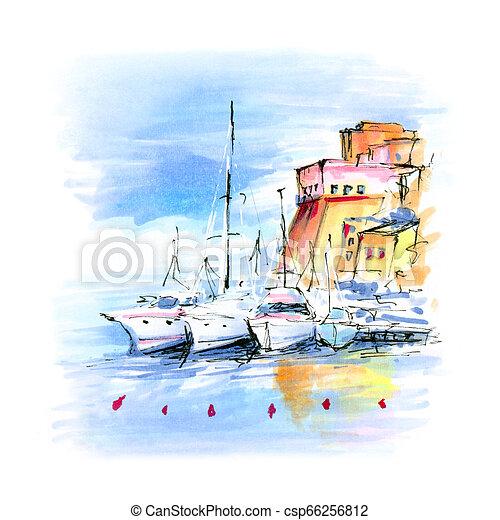Castellammare del Golfo, Sicily, Italy - csp66256812