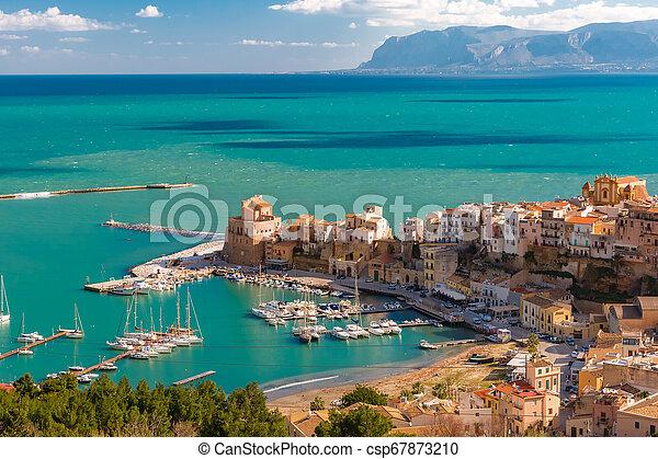 Castellammare del Golfo, Sicily, Italy - csp67873210