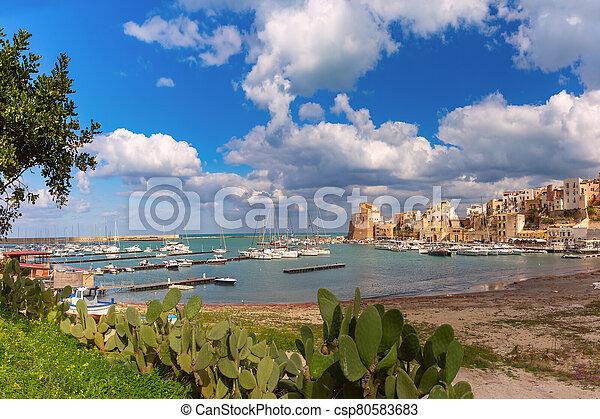Castellammare del Golfo, Sicily, Italy - csp80583683