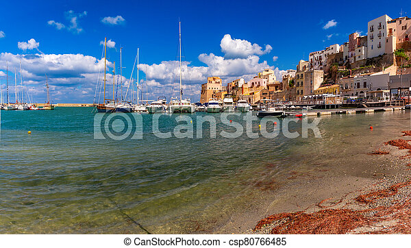 Castellammare del Golfo, Sicily, Italy - csp80766485