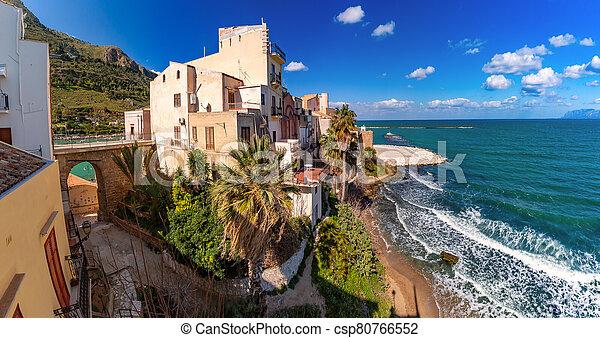 Castellammare del Golfo, Sicily, Italy - csp80766552