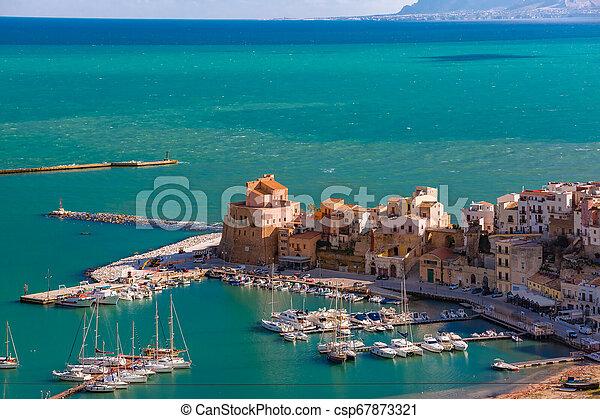 Castellammare del Golfo, Sicily, Italy - csp67873321