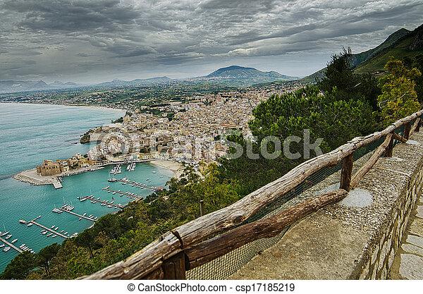 Castellammare del Golfo, Sicily - csp17185219