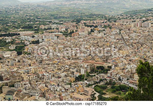 Castellammare del Golfo, Sicily - csp17185270