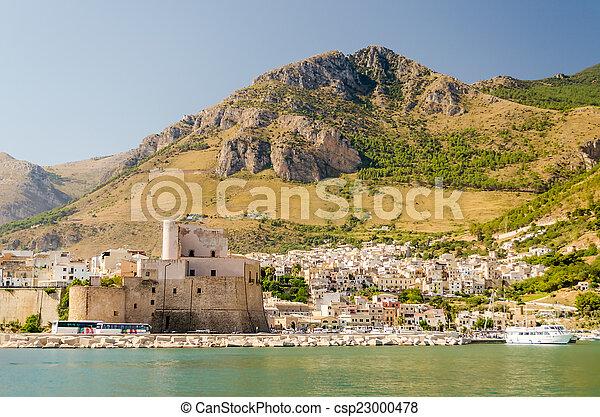 Castellammare del Golfo, Sicily - csp23000478