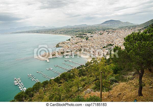 Castellammare del Golfo, Sicily - csp17185183