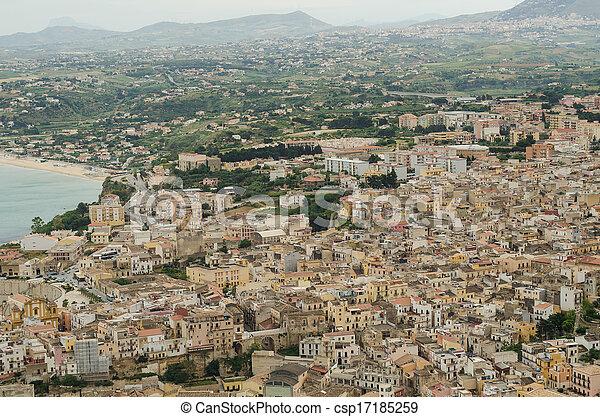 Castellammare del Golfo, Sicily - csp17185259