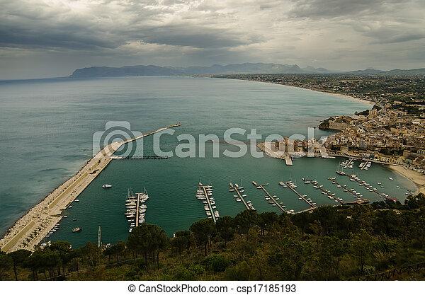 Castellammare del Golfo, Sicily - csp17185193