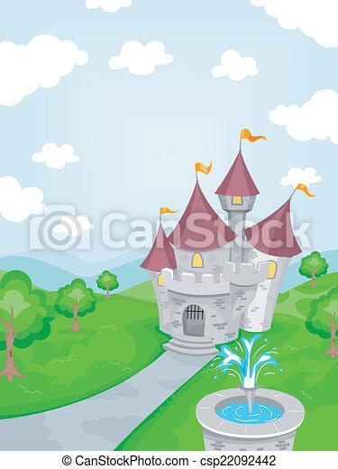 castello, fontana - csp22092442