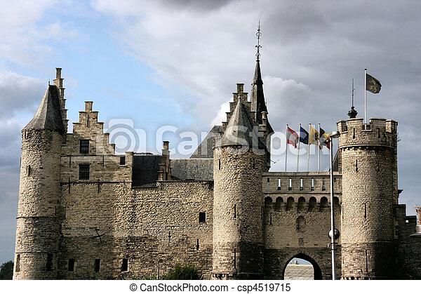 castello, medievale - csp4519715