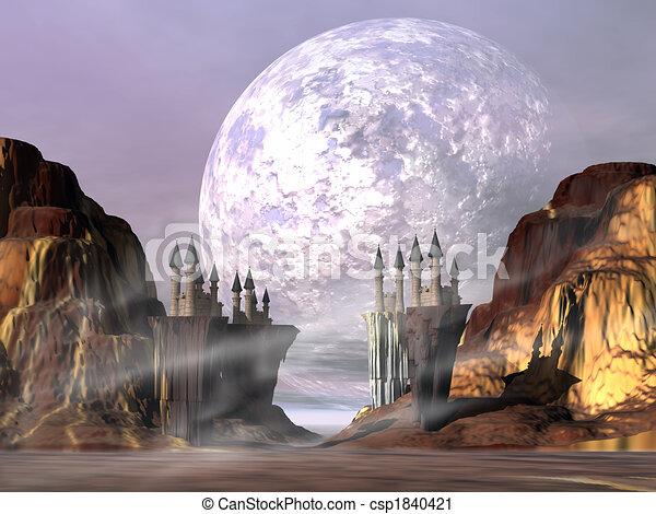 castello, valle - csp1840421